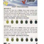 Sensafe (481110) Its Total Chlorine Kit; 30 Foil Packets Test Strips