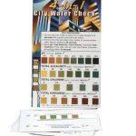 Sensafe (481113-2) pH, Alkalinity, Chlorine, Hardness; 2 Packet Test Strips