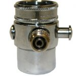 QMP (QMP502SLD-1/2) Diverter Valves 1/2″ COMPRESSION Diverter Valve; CHROME