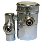 QMP (QMP520MM-3/8) Double Diverter Valves 3/8″ COMPRESSION; CHROME